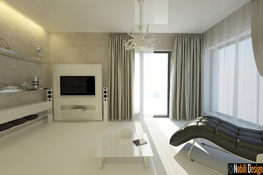 Casa amenajata in stil modern nobili interior design for Casa moderna kw