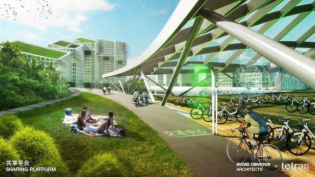 Sharing Transit Hub