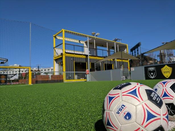 Soccer Park field house