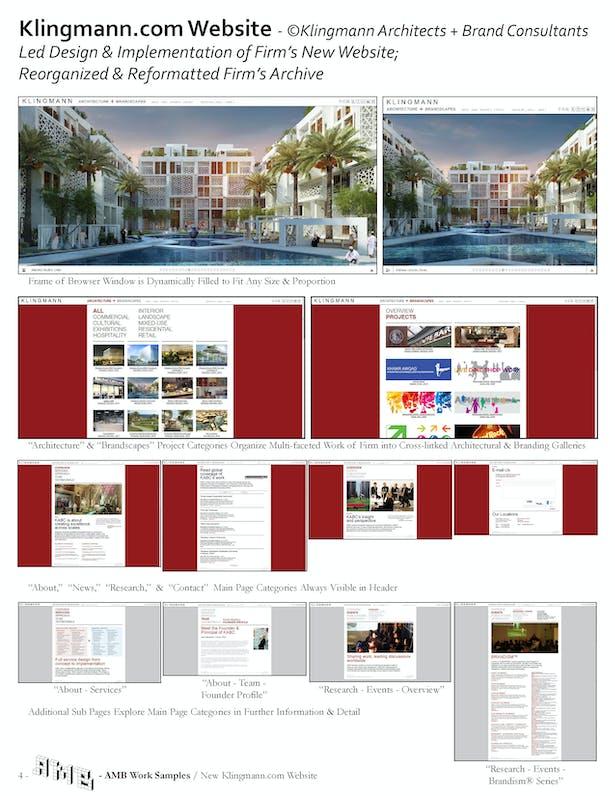 Redesigned Klingmann.com Website