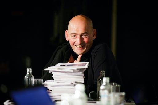 Winner of the Johannes Vermeer Award 2013: Rem Koolhaas (Photo: Fred Ernst)