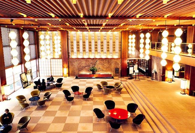 The old Hotel Okura in all its splendor. Image via Monocle Magazine's savetheokura.com.