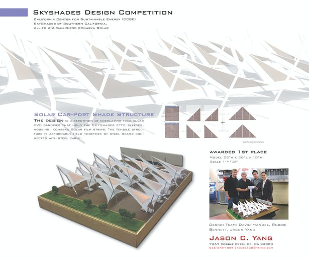 California Center for Sustainable Energy and SKYShades Competition