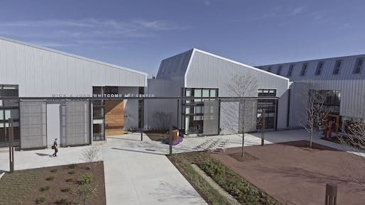 Education Award winner: Whitcomb Art Center, Knox College located in Galesburg, Illinois. Image: P.J. Hoerr Inc.