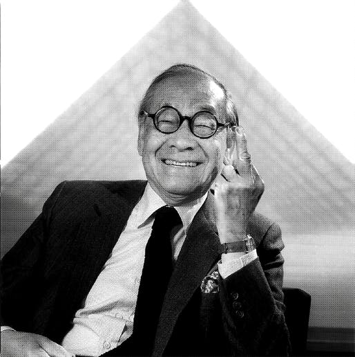 Ieoh Ming Pei. Image via supportingfrankgehry.tumblr.com