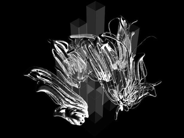 42 - 3D ISO View of Final Rhino_Mesh Representation