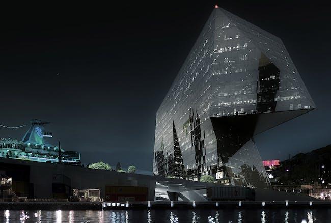 Reflections at night (Image: Labtop)