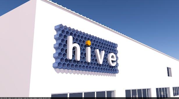 Hive Displays Signage design