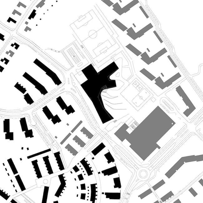 Site plan (Image courtesy of Verstas Architects)