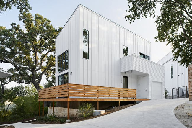 Woodland Residences in Austin, TX by Derrington Building Studio; Photo: Craig Washburn Pictures