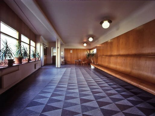 Waiting room at the Woodland Crematorium, by Erik Gunnar Asplund.