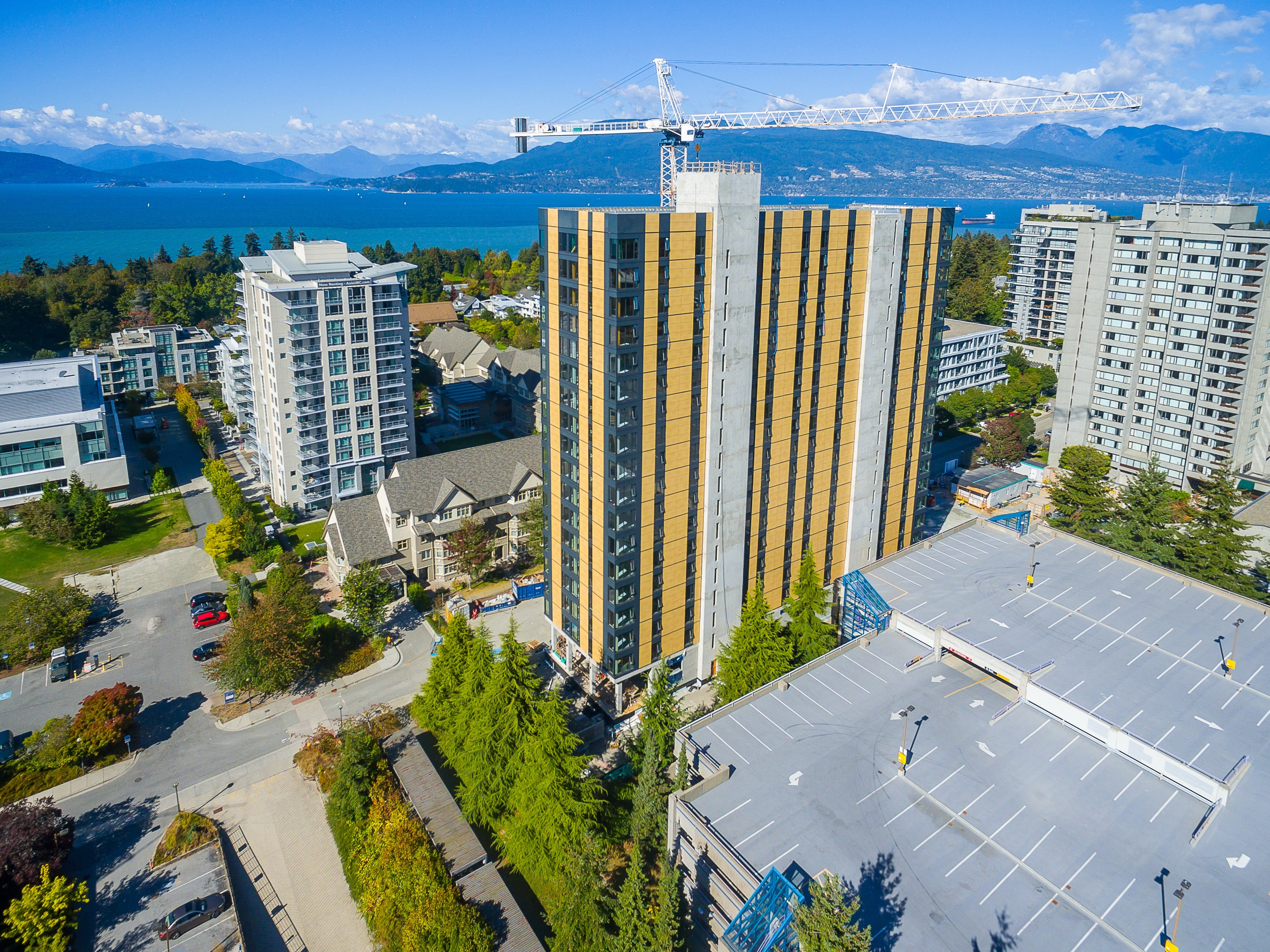 Brock Commons, The Worldu0027s Tallest Wood Building. Credit: University Of  British Columbia,