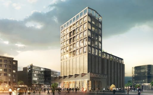 Rendering of Zeitz MOCAA. Image courtesy Heatherwick Studio.