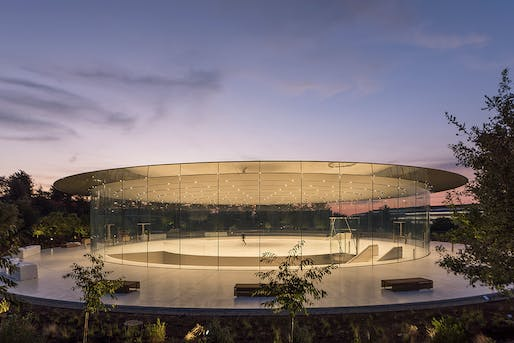 Look mom, no columns! Photo: Nigel Young, courtesy of Foster + Partners.