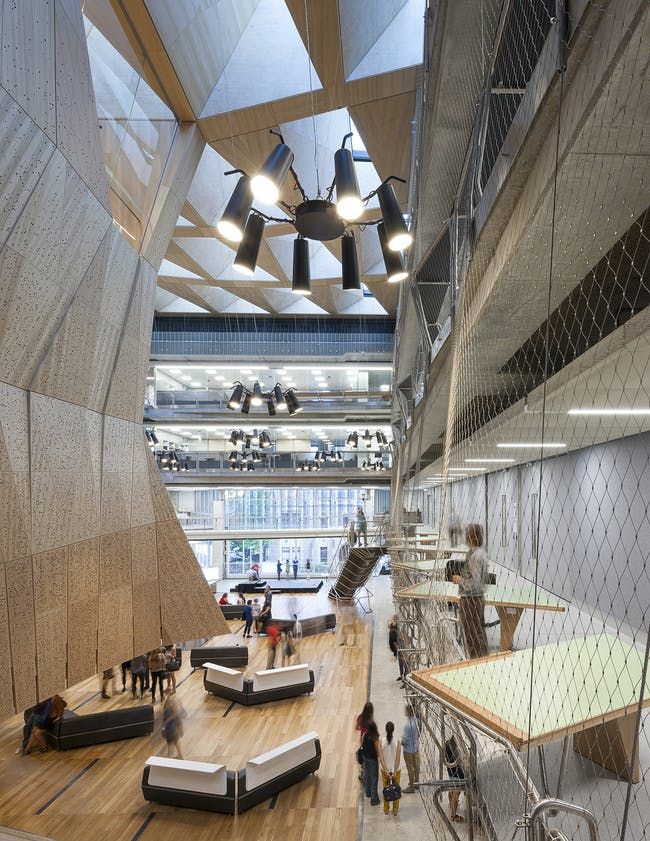 Melbourne School of Design in Melbourne, Australia by NADAAA in collaboration with John Wardle Architects