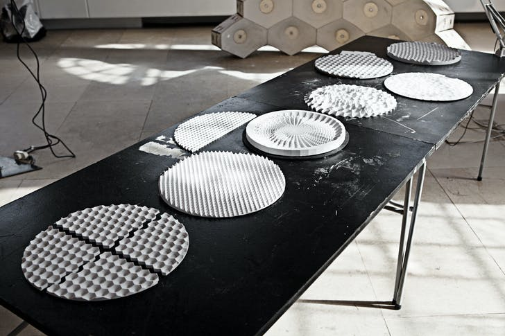 'Responsive Acoustic Surfacing', Photo: Anders Ingvartsen