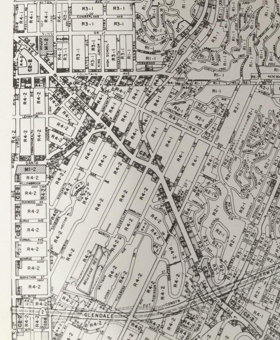 Silverlake Los Angeles Map.The Forbidden City Of Los Angeles Buildings Made Illegal Today News