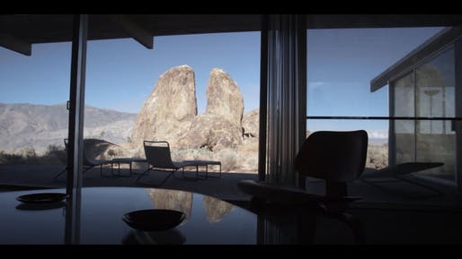 Still from 'The Oyler House: Richard Neutra's Desert Retreat,' which documents how Neutra came to befriend a modest, small-town family, and how his design of the home was inspired by the site's stunning desert setting.