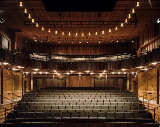 Nevill Holt Opera, Leicestershire (Architect: Witherford Watson Mann Architects). Photo ©