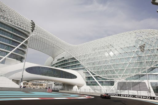 Yas Viceroy by Asymptote Architecture.