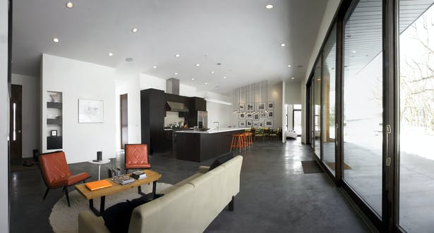 Open Floor Plan - Living, Kitchen, Dining