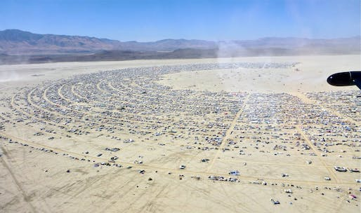 Black Rock City of Burning Man. Image via flickr/Steve Jurvetson.