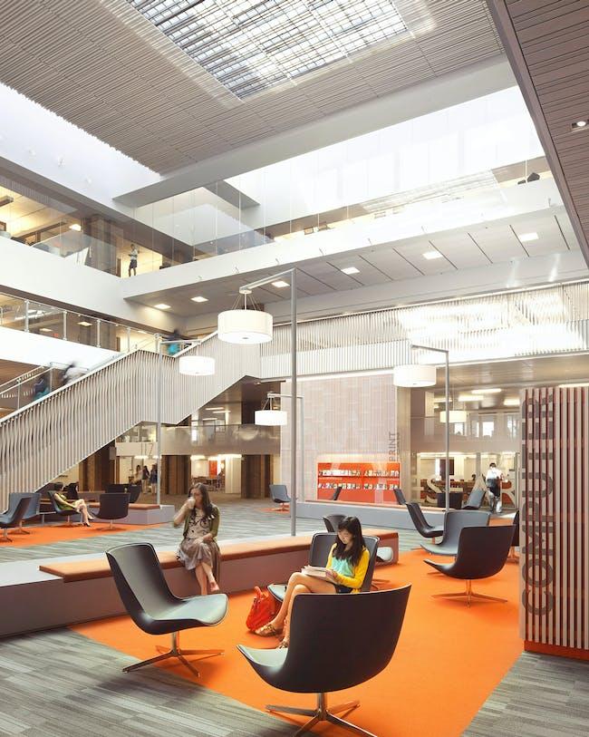 Odegaard Undergraduate Library; Seattle, Washington The Miller Hull Partnership