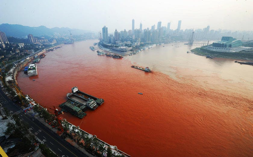 Yangtze River Turns Red And Turns Up A Mystery News Archinect - What is the third largest river in the world