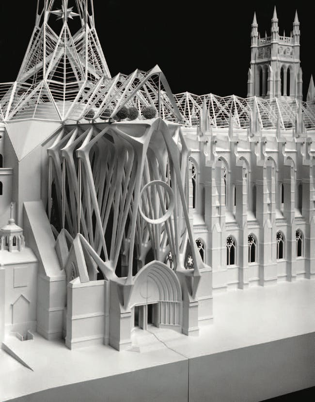 Calatrava Cathedral of St John (1992). Courtesy of Distributed Art Publishers, Inc.