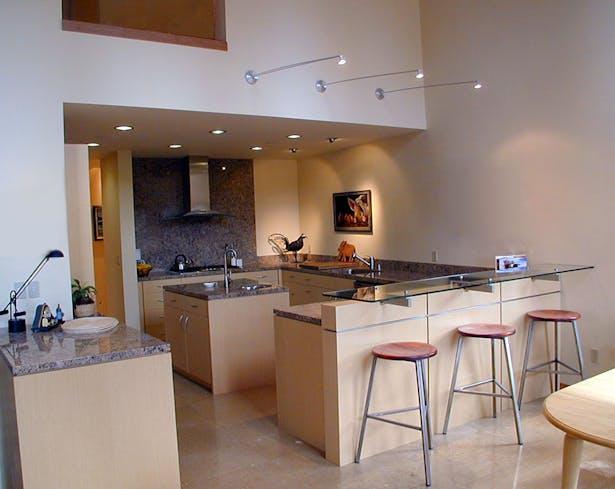 Interior Kitchen View