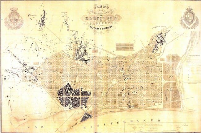 http://en.wikipedia.org/wiki/File:Ensanche_-_eixample_-_Barcelona.jpg
