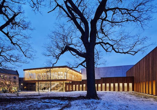 Studio Gang Architects' Writers Theatre Glencoe, IL, 2016. Photo: studiogang.com