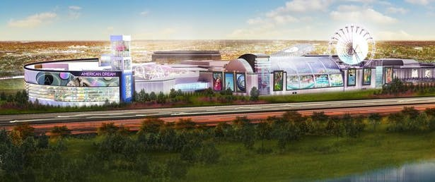 Exterior render of Amusement/Water parks