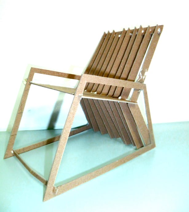 Fabulous Cnc Milled Chair Jenna Cruff Archinect Ibusinesslaw Wood Chair Design Ideas Ibusinesslaworg