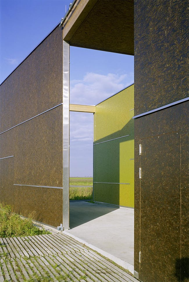 Leeb Fruit Orchard in St. Andrä am Zicksee, Austria by Architects Collective (Photo: Wolfgang Thaler)