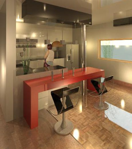 Interior Design ... Die Küche