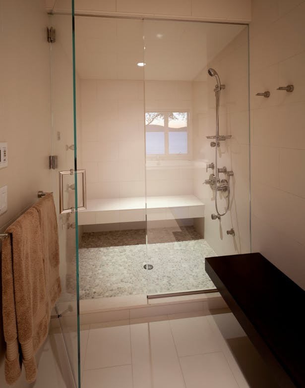 Master Bath Steam Room