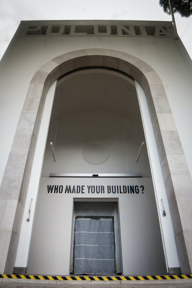 Fair Building, Polish Pavilion at the Biennale Architettura 2016, exhibition view. Photo courtesy of Maciej Jelonek.