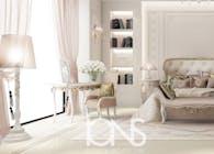 Graceful Feminine Bedroom Design
