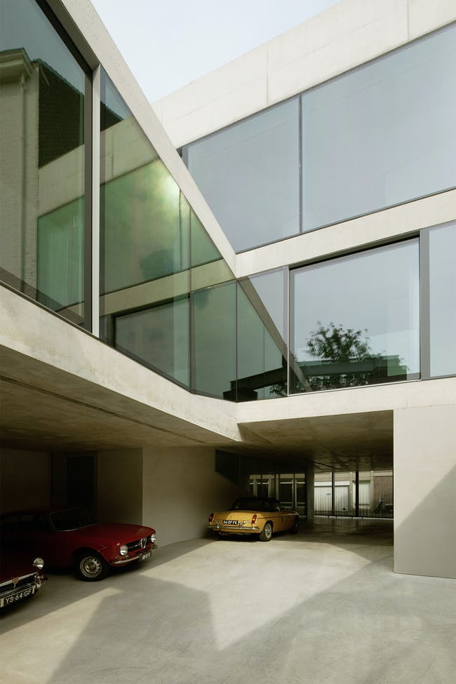 V' House in Maastricht, the Netherlands by Wiel Arets Architects