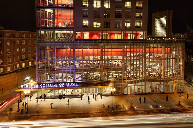 AIA CAE 2015 Education Facility Design Awards - Berklee Tower | Berklee College of Music; Boston by William Rawn Associates, Architects, Inc. Photo: Bruce T. Martin.