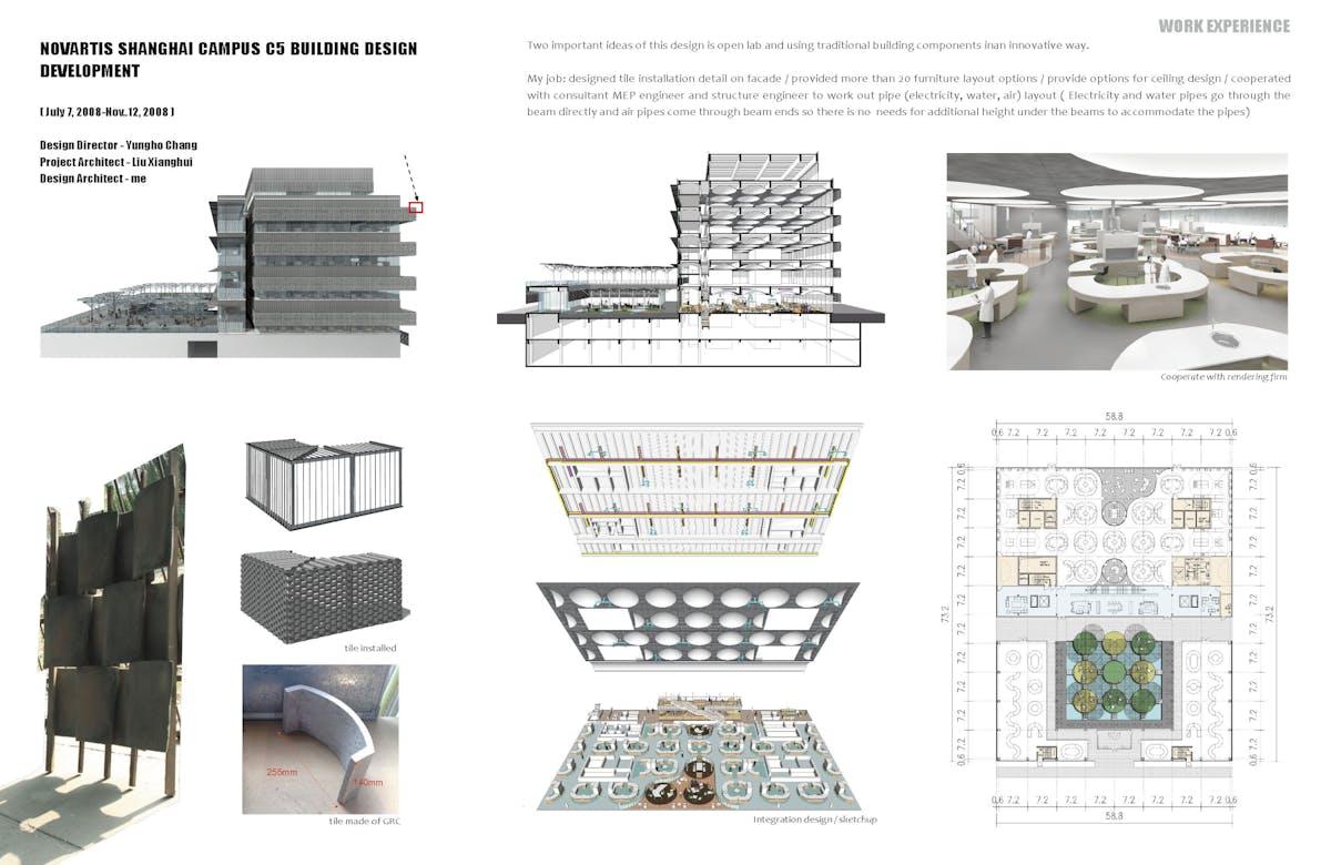 Novartis Shanghai Campus C5 Building Design Development Guannan Piping Layout Engineer Jobs Chen Archinect