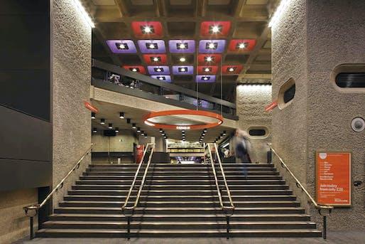 Barbican Foyers. Image courtesy Barbican Centre.