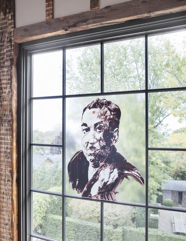 Langston Hughes portrait
