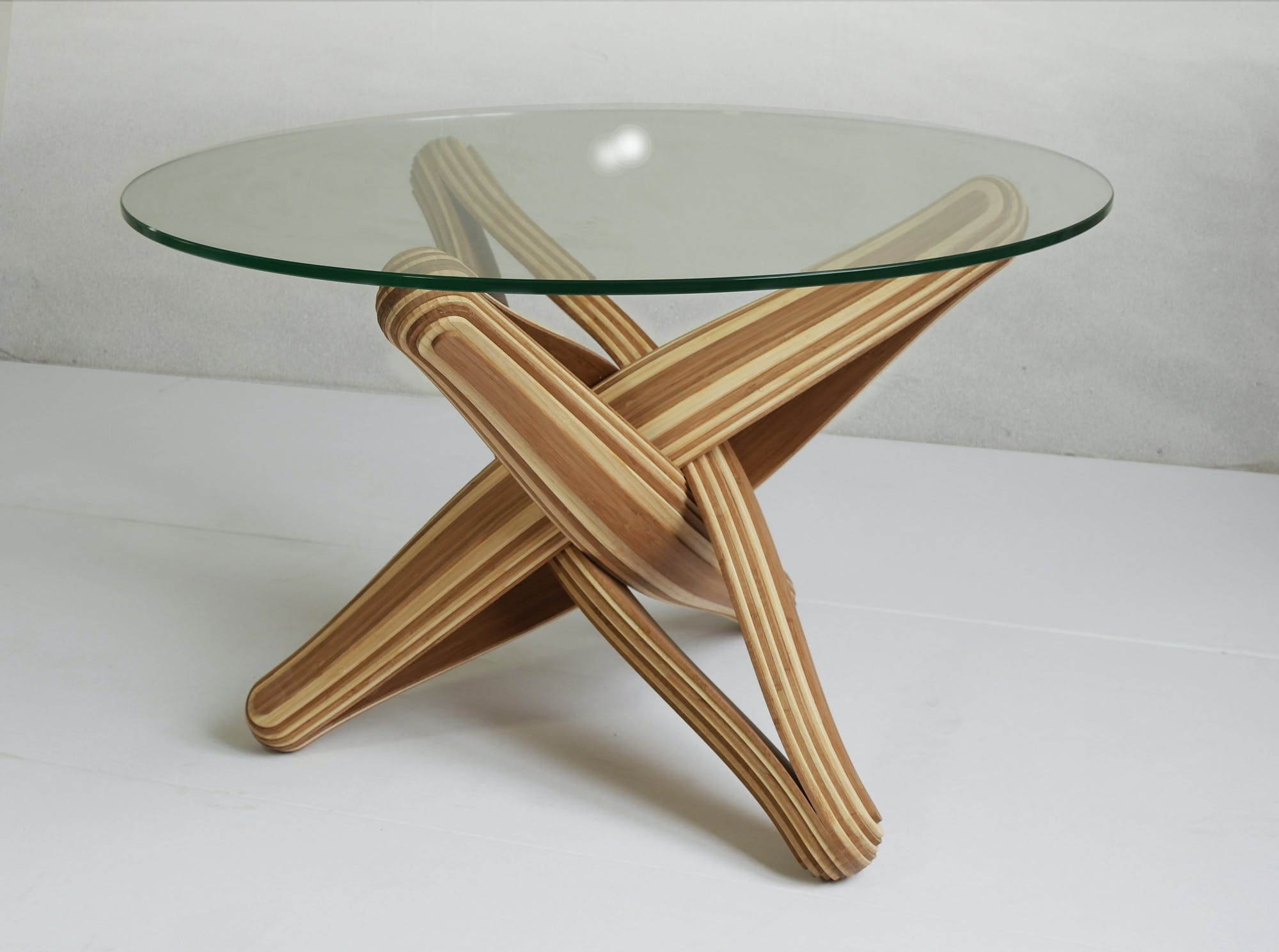 LOCK bamboo coffee table PLANKTON