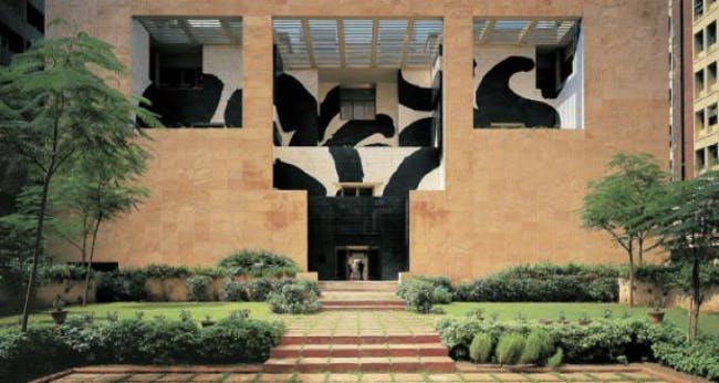 British Council Building in Delhi. Image via prestige-singapore.com
