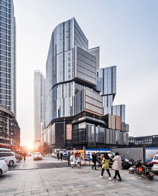 Changsha Hua Center Phase II Project in Changsha, China, designed by Aedas