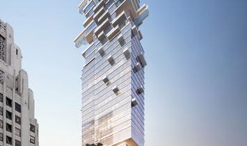 Downtown LA skyscraper with cantilevered glass-bottom swimming pools gets thumbs-up from city planning commission