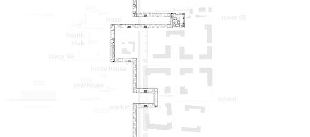 building stip ground zero /detail