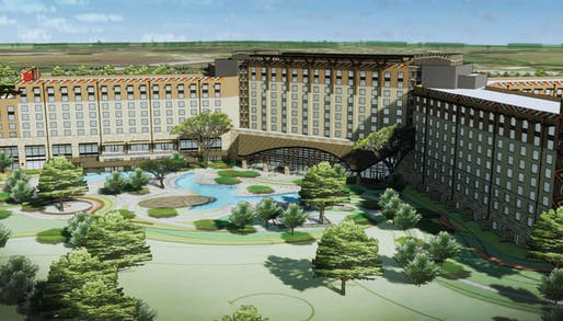 Rendering of the forthcoming Kalahari Resort outside Austin, Texas. Image courtesy of Kalahari Resorts.